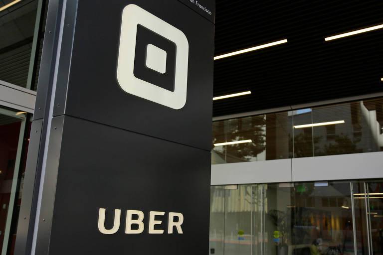 Imagem da sede da Uber em São Francisco, nos EUA