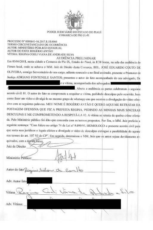 'Gemidão do WhatsApp' faz Justiça determinar que homem grave pedido de desculpas a prefeita piauense