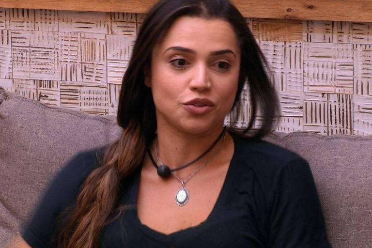Paula no BBB 18 (Globo)