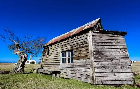 Casa em vila rústica de Cabo Polônio, no Uruguai