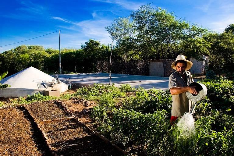 Armazenamento de água por cisternas é uma das tecnologias reconhecidas pela Fundação Banco do Brasil