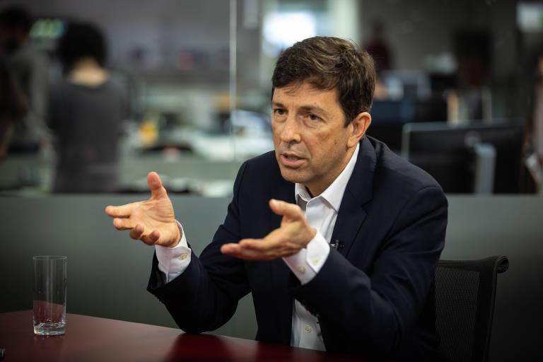 João Amoedo, pré-candidato do Novo à Presidência, em entrevista à TV Folha