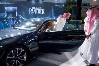 'Pantera Negra' marca volta do cinema à Arábia Saudita