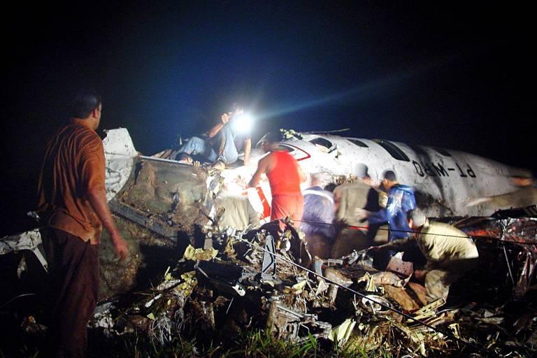 Acidentes aéreos no Brasil
