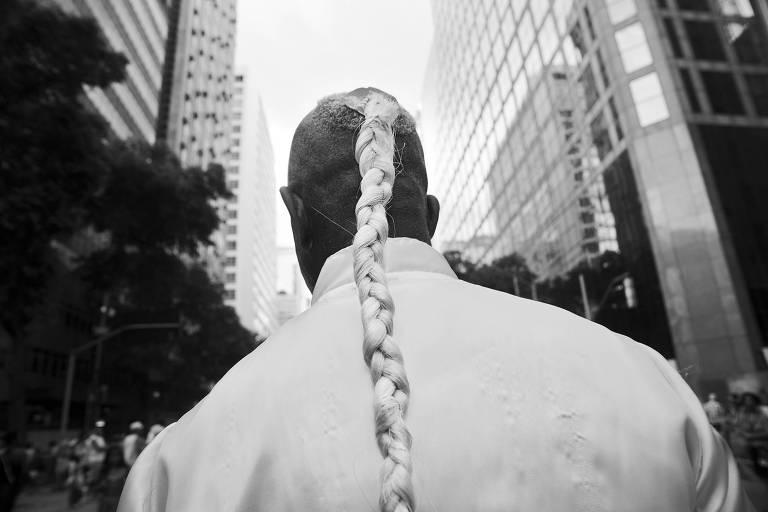 Foto da série 'Janus', de Walter Carvalho, exposta na mostra 'Retraço', no MIS