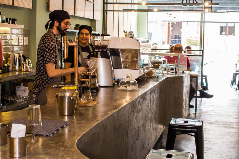 Ambiente do Zud Café