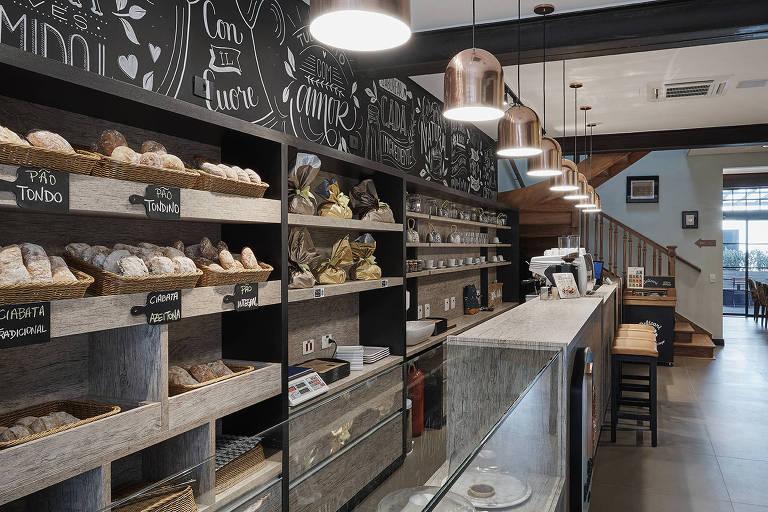 Casa Bonometti vende pães e doces em Higienópolis