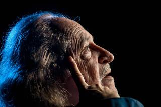 Retrato do cantor pernambucano Alceu Valença