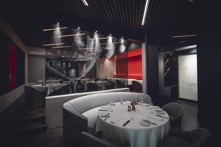 Novo ambiente do Verbena, no hotel Transamerica; reformulado, restaurante agora tem menu de Luciano Boseggia