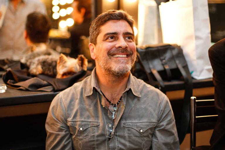 O ator  Junno Andrade