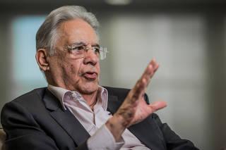 Entrevista com ex-presidente Fernando Henrique Cardoso (PSDB)