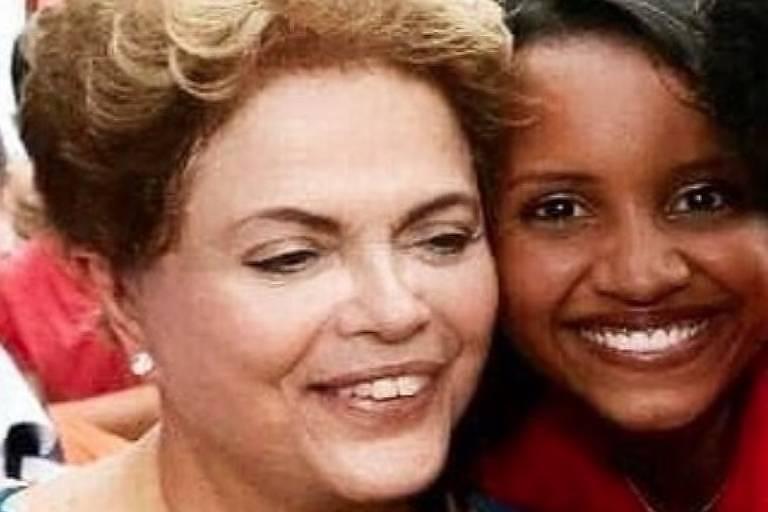 Dilma posta selfie com Gleici