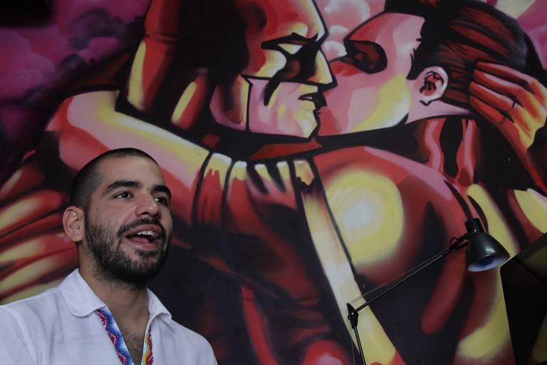 Sergio López, da ONG SomosGay, em Assunção, no Paraguai