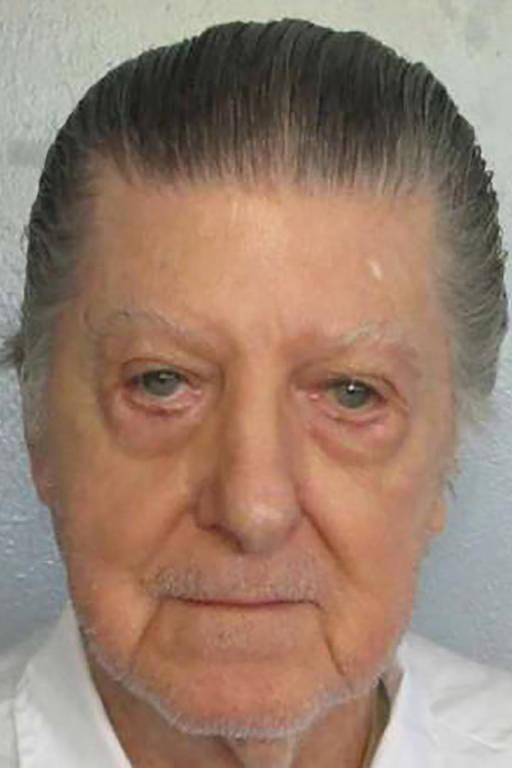 Foto sem data de Walter Moody, 83, feita na prisão