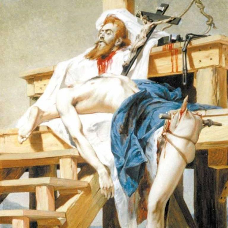 Resultado de imagem para telas pintadas representando tiradentes