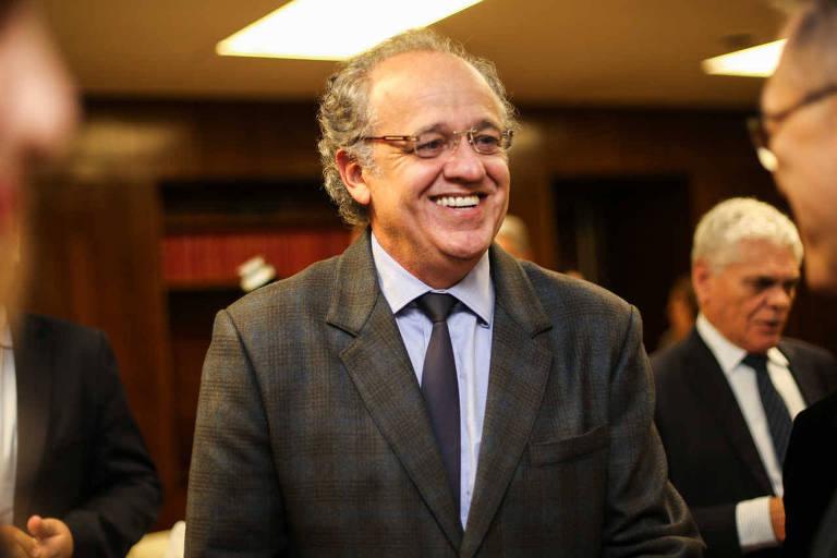Dimas Ramalho, conselheiro do Tribunal de Contas do Estado de São Paulo, em evento em 2016
