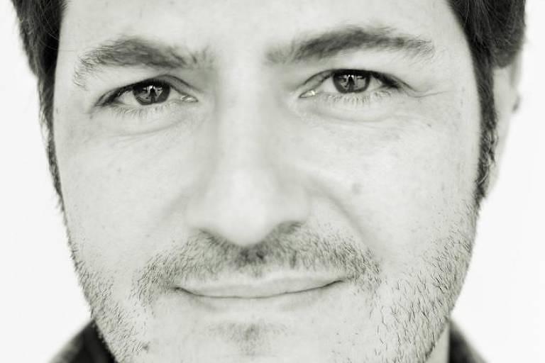 O escritor Alexandre Staut, autor de 'O Incêndio'