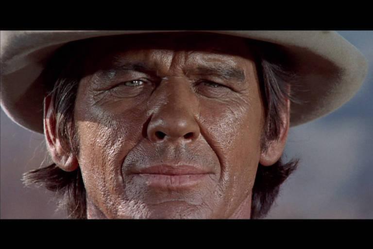 Cena do filme Era uma vez no Oeste, de Sergio Leone