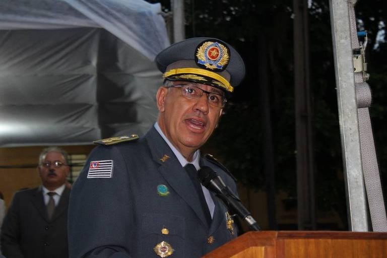 O novo comandante da PM, coronel Vieira Salles, 51