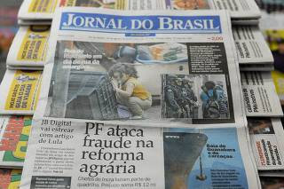 BRAZIL-NEWSPAPER-JB-LAST PAPER EDITION