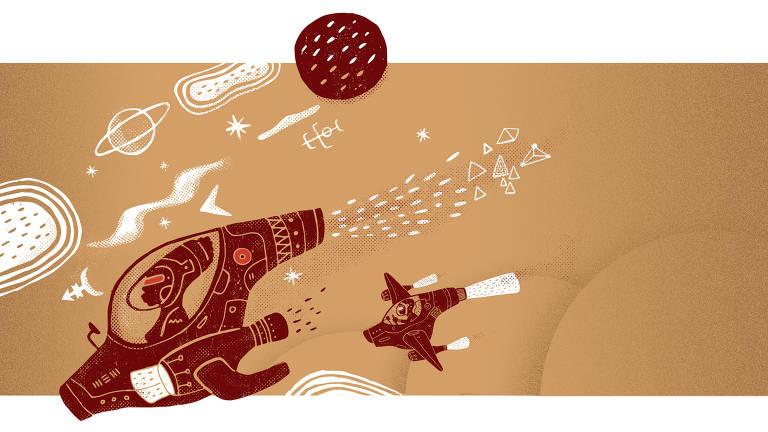 Ilustração Ilustrada Edson Ikê
