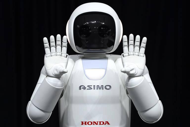 Três robôs de verdade melhor que o da ficção