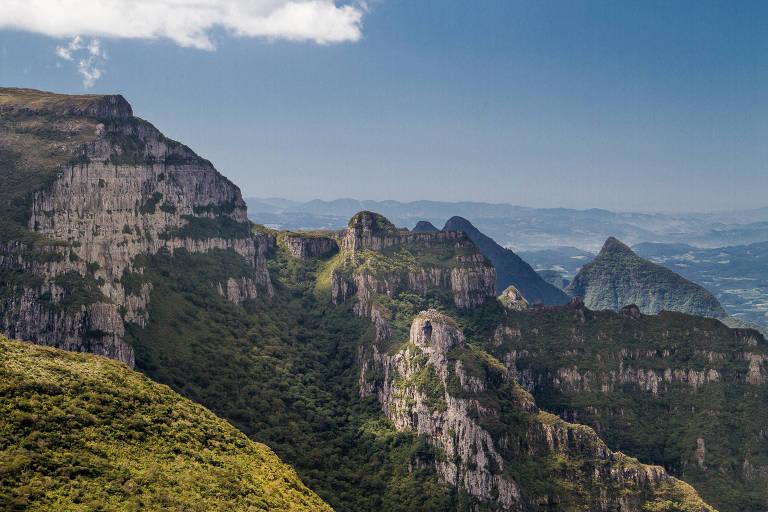 Morro da Igreja, que pertence ao Parque Nacional de São Joaquim (SC)