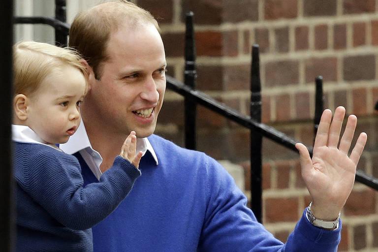 Crianças da família real inglesa