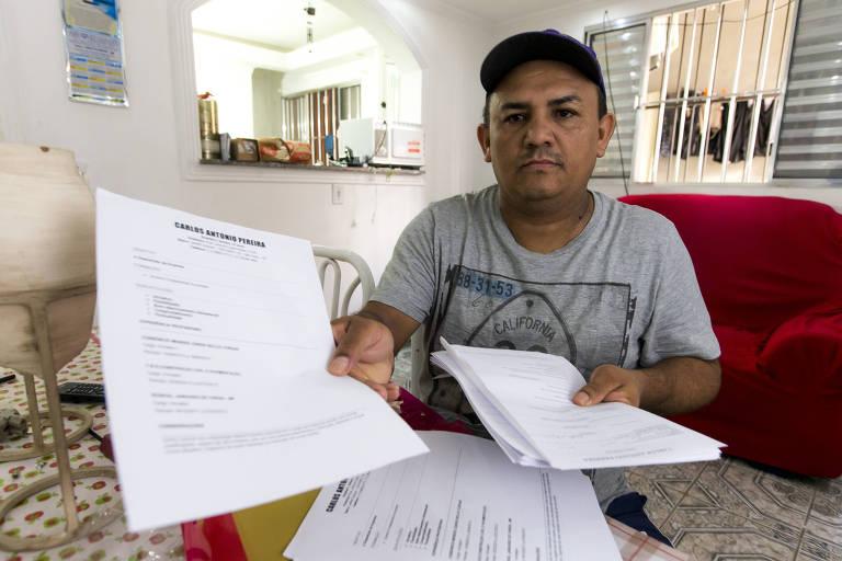 Carlos Antonio Pereira está desempregado há mais de dois anos