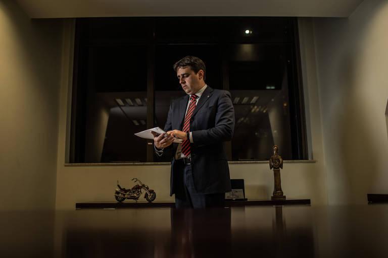 Thiago Lacerda Nobre, procurador-chefe do Ministério Público de São Paulo