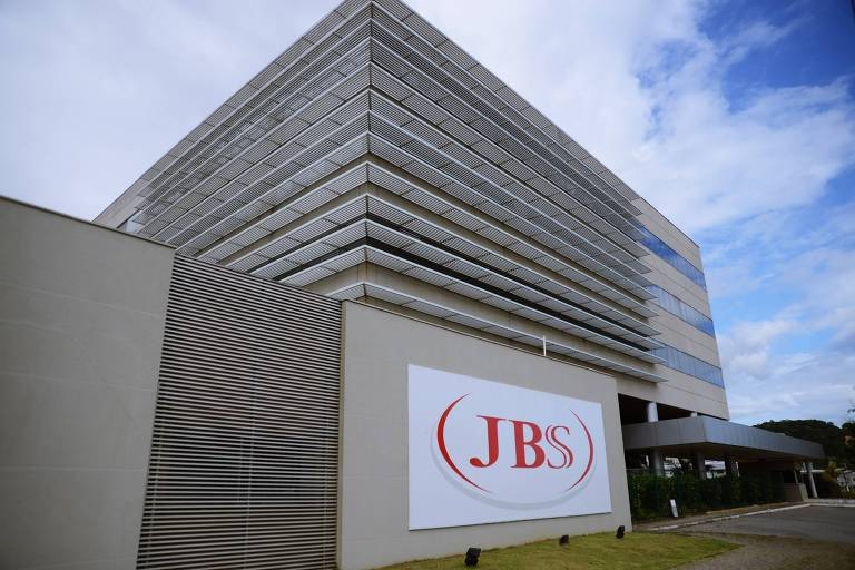 Fachada da JBS Foods, em Itajaí (MG)