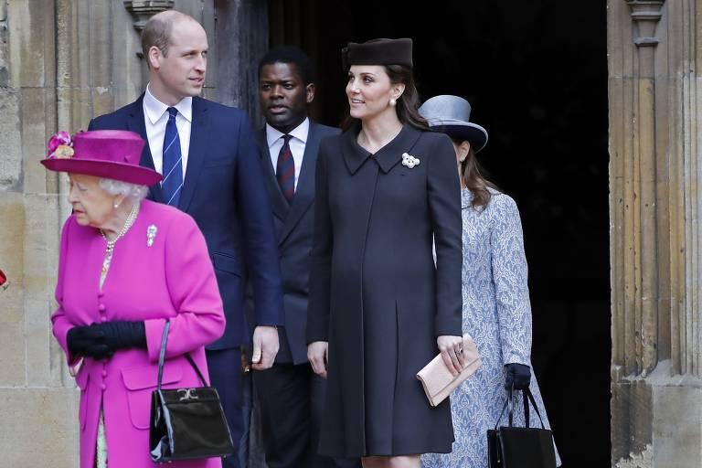 Estilo de Kate Middleton na terceira gravidez