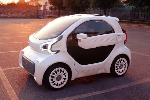 Protótipo elétrico chinês LSEV é feito em uma impressora 3D; apresentação ao público acontece no Salão do Automóvel de Pequim 2018