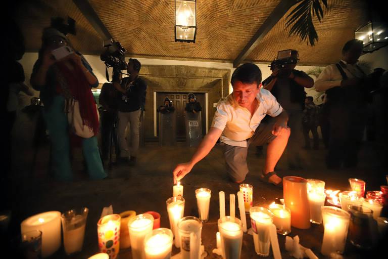 Estudantes desaparecidos no México