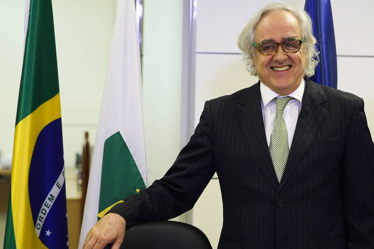 O jornalista Laerte Rímoli, ex-presidente da EBC
