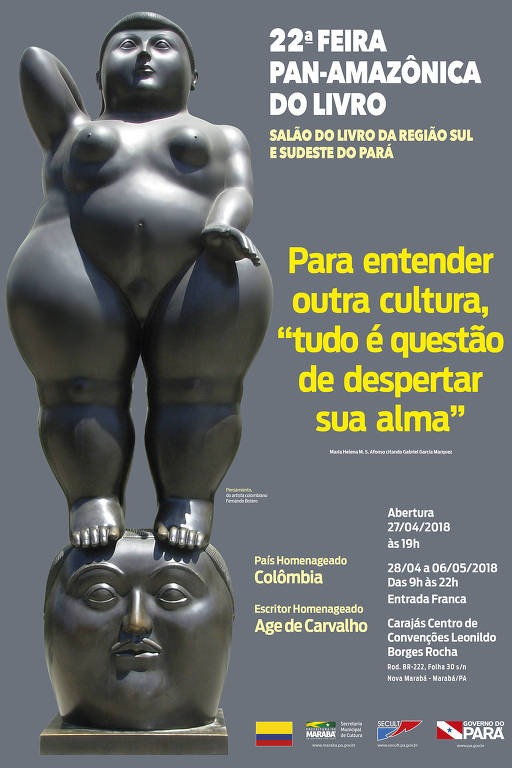 Nova cartaz da 22ª edição da Feira Pan-Amazônica