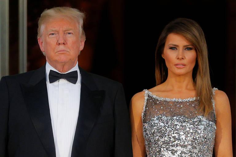 Trump recebe Macron em Washington