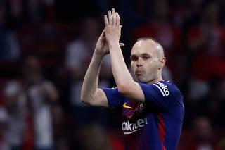 Spanish King's Cup Final - FC Barcelona v Sevilla
