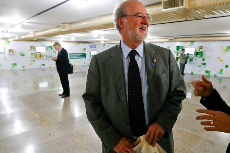O ex-deputado e réu no processo do mensalão mineiro Eduardo Azeredo