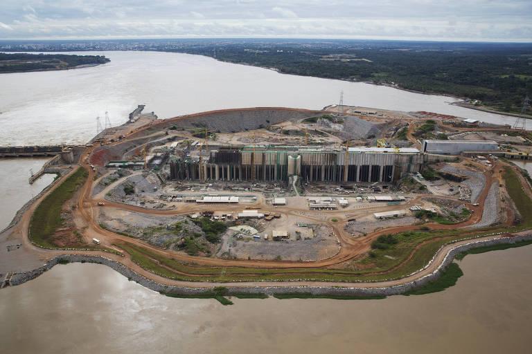 Grandes usinas hidrelétricas