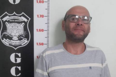 O golpista Marcelo Nascimento, preso nesta quarta-feira (25), em Cuiabá