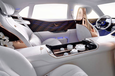 Vision Mercedes-Maybach Ultimate Luxury, Auto China 2018 Vision Mercedes-Maybach Ultimate Luxury, Auto China 2018 ORG XMIT: 18C0325_009