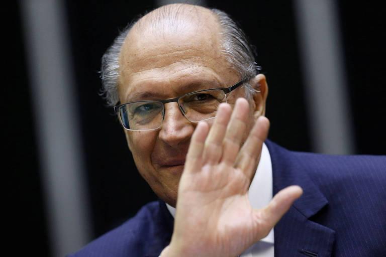 O ex-governador de São Paulo e pré-candidato tucano, Geraldo Alckmin, que defende a aliança com o PSD