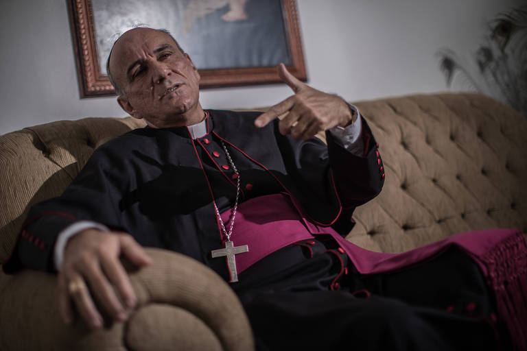 Bispo dom José Ronaldo Ribeiro, de Formosa, que entregou carta de renúncia