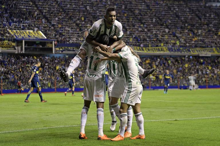 Palmeiras suportou bem a pressão do Boca na Bombonera e volta da Argentina com a vaga nas oitavas