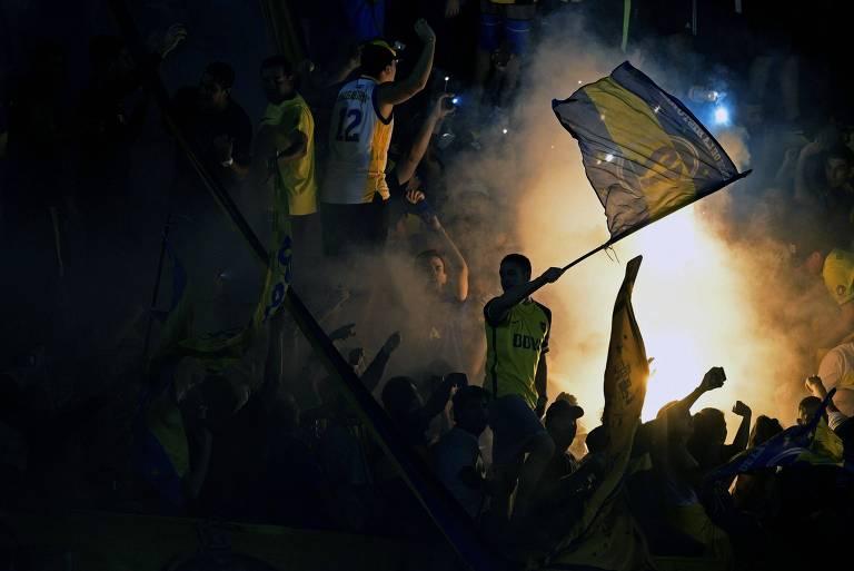 Palmeiras vence o Boca na Bombonera