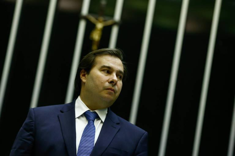 Presidente da Câmara, Rodrigo Maia (DEM-RJ)