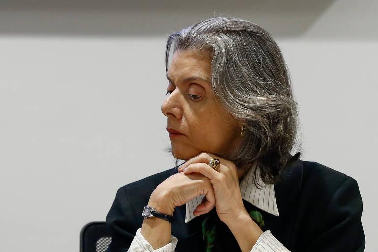 A presidente do Conselho Nacional de Justiça, Carmen Lucia