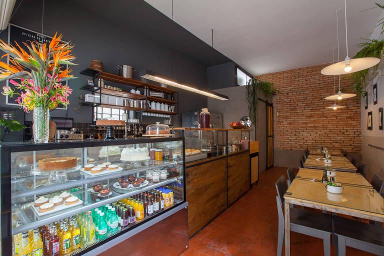 Ambiente do café Ninos
