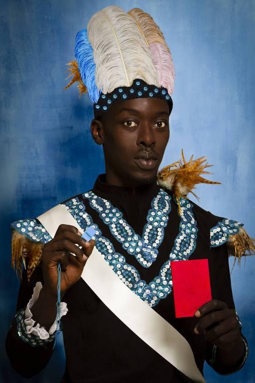 """""""Albert Badin"""", do senegalês Omar Victor Diop"""